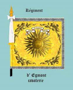 Régiment d'Egmont cavalerie