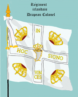 Régiment de Bulkeley, Drapeau colonel