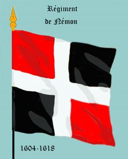 """Régiment d'Aquitaine (d'abord """"Némon)"""