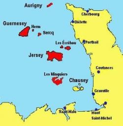 Aux marges du palais... (VII): Iles de la Manche..