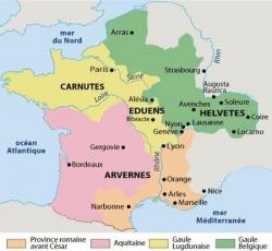 Les Gaules juste avant César...