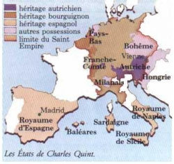 La France face à l'Europe de Charles Quint...
