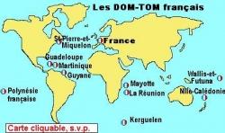 DOM/TOM : (I) une présence sur les cinq continents