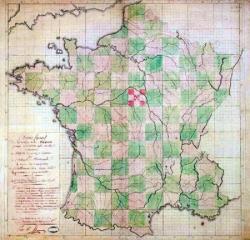 II/III : Les 80 departements carrés...