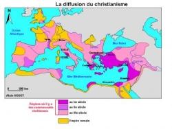 Diffusion du christianisme...