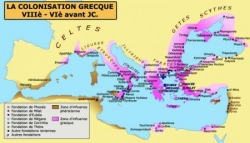 L'arrivée des Grecs...
