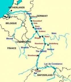 La marche vers l'Est : la France et le Rhin (I)