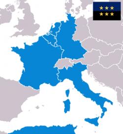 """La première Europe, celle """"des Six""""..."""