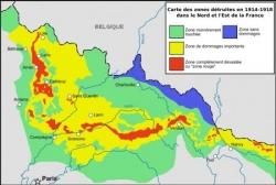 1914 : La France dévastée...