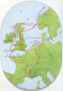 Le voyage de Pythéas...