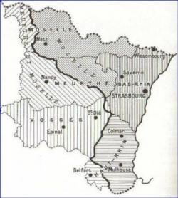 1870 : l'Alsace, une partie de la Lorraine perdues