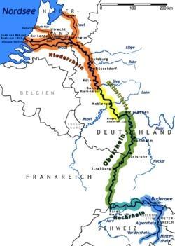 """De Strasbourg à Cologne..."" : II (b), Rhénanie..."