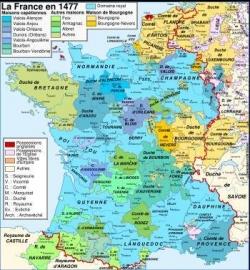 La France face à la maison de Bourgogne...