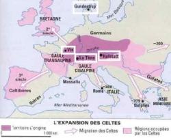 Puis viennent les Celtes, ou Gaulois... (II)