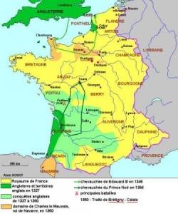 Guerre de Cent ans (1/4) : premier effondrement...
