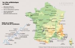 Les sites préhistoriques en France...