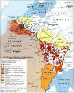 """La politique des """"Réunions"""" de Louis XIV..."""