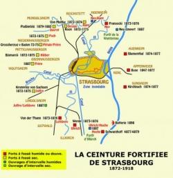 1871 : Strasbourg, glacis anti-français...