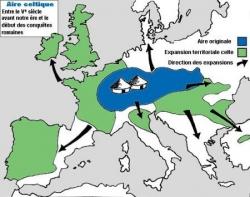 Puis viennent les Celtes, ou Gaulois... (III)(