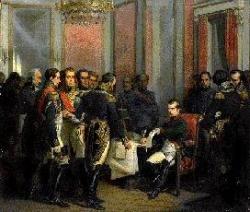Abdication de Napoléon.