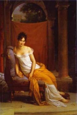 A Juliette Récamier.