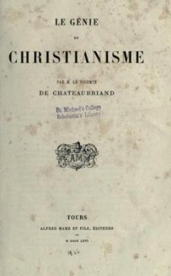 1802 : Parution du Génie du Christianisme...