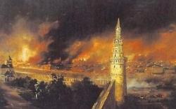 15 septembre 1812 : l'incendie de Moscou