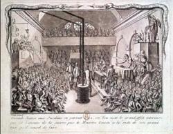 Le pandemonium révolutionnaire : Orateurs.