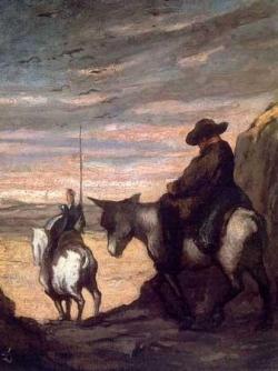 Sur Don Quichotte...