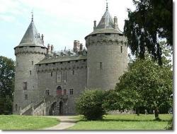 Combourg (1/2): Description du château....