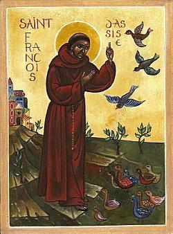 Sur Saint François d'Assise