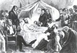 Mort de Napoléon (5 mai 1821).