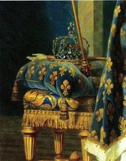 Portrait de Charles X (détail)