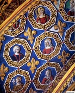 Dans la cathédrale d'Albi....