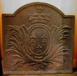 Plaque de cheminée (I).
