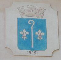 Blason de Saint Mitre les Remparts.