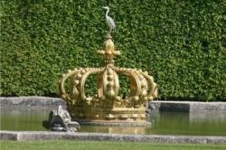 Dans les jardins de Vaux-le-Vicomte...