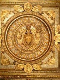 Plafond des Appartements royaux du Louvre