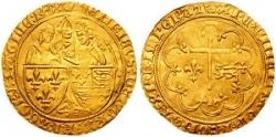 Monnaie du roi anglais Henri VI.