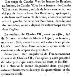 1793 : l'année terrible des profanations (I).....