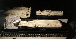 Le gisant d'Isabelle d'Aragon.