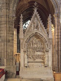 Le tombeau de Dagobert.