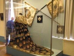 Le manteau du sacre de Charles X