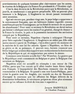 La révolution et la Belgique (III)