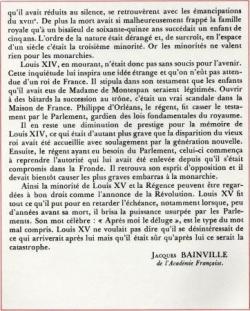 La Vérité sur le Siècle de Louis XIV (III)