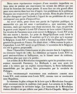 La révolution et la Belgique (II)
