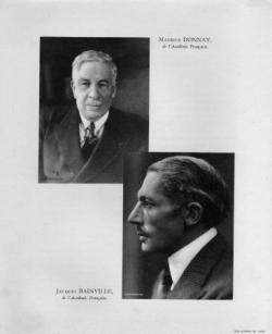 Maurice Donnay et Jacques Bainville