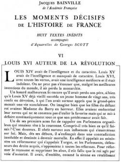 Louis XVI, auteur de la Révolution (I)