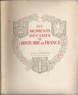 Le dernier livre de Jacques Bainville...