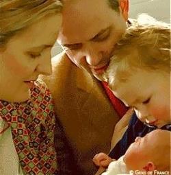 Deuxième naissance dans la Famille du Prince....